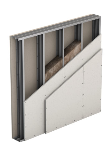 Partition, Double Wall, Double Layer Cladding (W115)