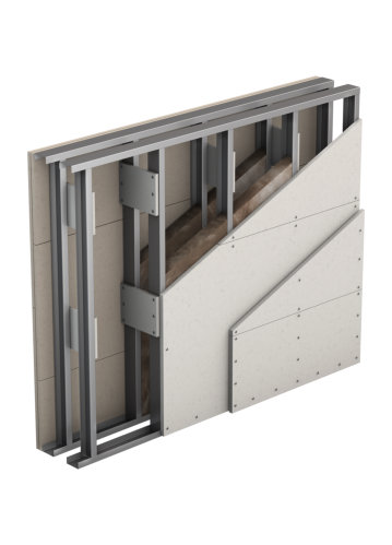 Partition, Double Wall, Double Layer Cladding (W116)