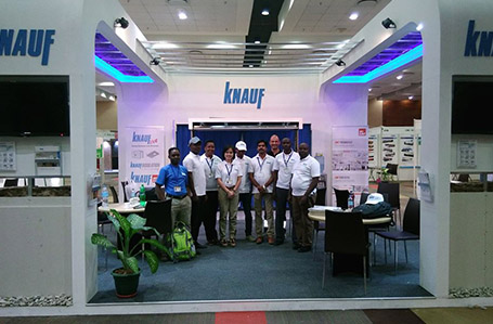 Knauf East Africa Takes Part in 20th BUILDEXPO AFRICA 2017
